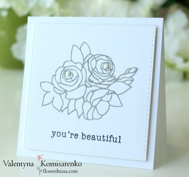 Silhouette Delicate Flowers, Clearly Besotted, #flourishtina.com