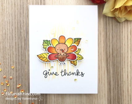 Fall Harvest Card by Flourishtina