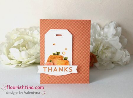 Autumn Color Thanks Card